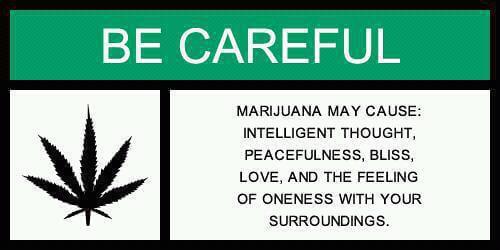 אזהרה! המריחואנה טובה לחיים!