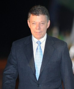 נשיא קולומביה - חואן מנואל סאנטוס