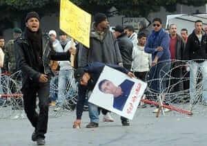 הפגנות בתוניסיה