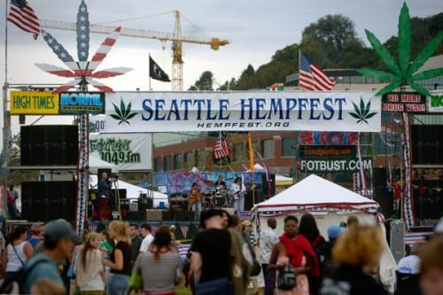 Seattle HempFest - הפסטיבל בסיאטל