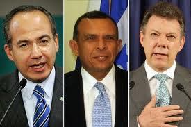 סנטוס, לובו וקלדרון - נשיאי המדינות
