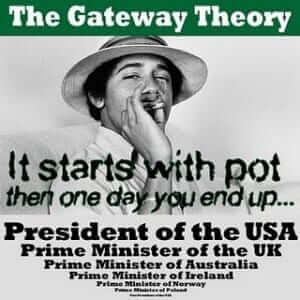 אובמה מעשן