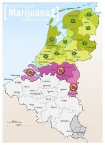 חוקיות מריחואנה בהולנד (באמסטרדם עדיין חוקי) נכון ליולי 2012
