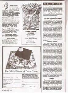 """המודעה המקורית מהמגזין - """"הסוד של סאדו סאם"""""""