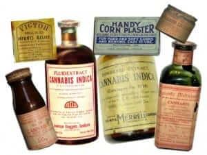 מגוון תרופות מבוססות קנאביס אשר שימשו עד לא מזמן את עולם הרפואה המודרני