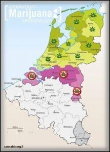 חוקיות קנאביס בהולנד נכון ליולי 2012