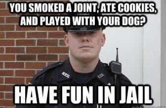 עישנת צמח? לך לכלא!
