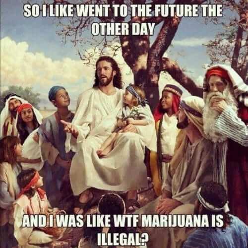 מריחואנה לא חוקית?