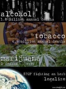אלכוהול-סיגריות-קנאביס