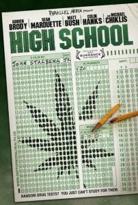 הפוסטר - High School