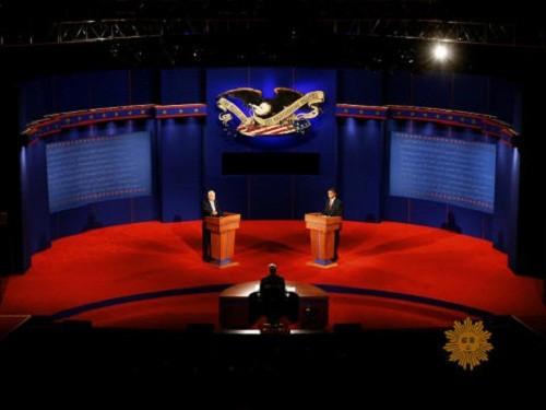 """העימות הנשיאותי ארה""""ב"""