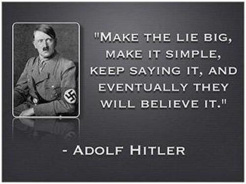 Гитлер в минуту искренности