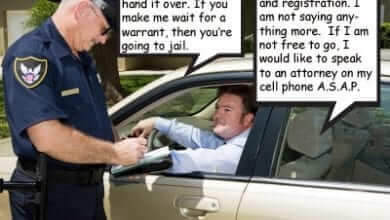 מה לעשות אם שוטר רוצה לבצע חיפוש ברכב?
