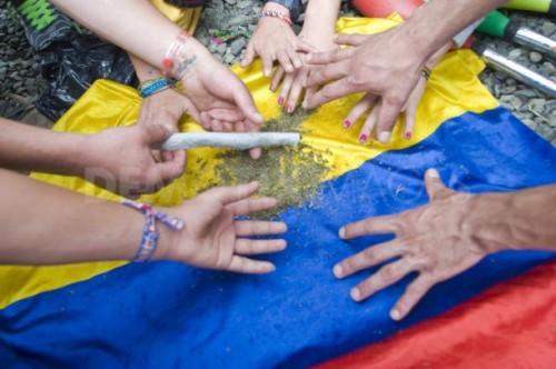 דה קרימינליזציה של מריחואנה וקוקאין בקולומביה