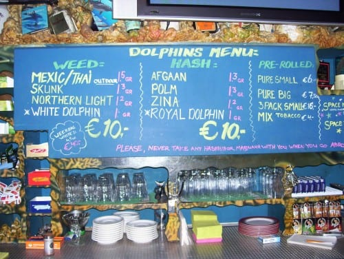 אז מה המיוחדים של היום? תפריט הקנאביס ב-Dolphins