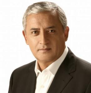 אוטו פרז מולינה נשיא גוואטמלה