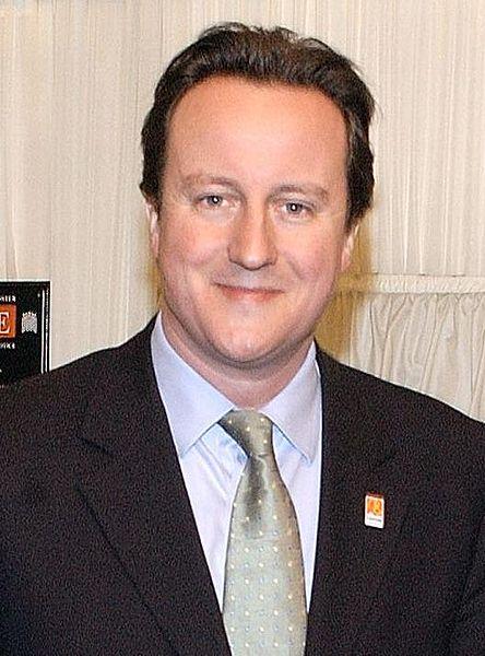 דייויד קמרון ראש ממשלת אנגליה