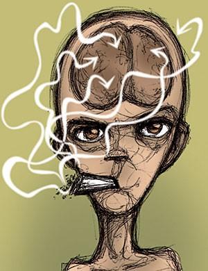 השפעת הקנאביס על המוח