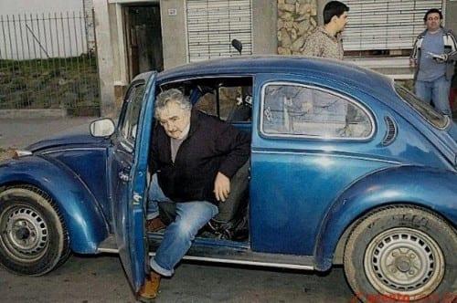 החיפושית של חוסה מוחיקה נשיא אורוגוואי
