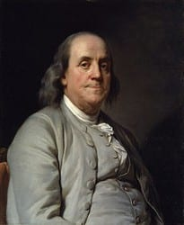 "בנג'מין פרנקלין, ממייסדי ארה""ב"