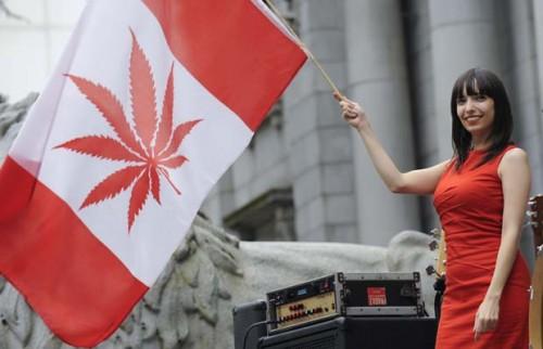 קנדה - לגליזציה של קנאביס