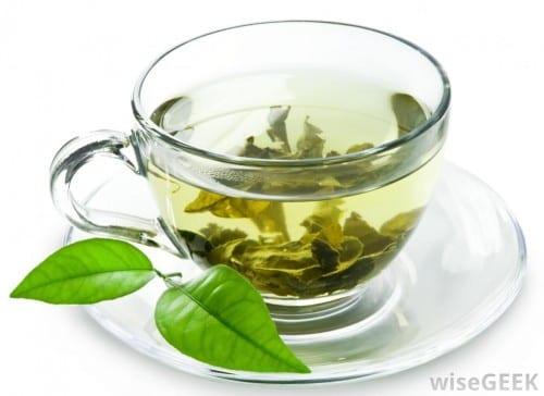 תה ירוק - עוזר בניקוי המערכת