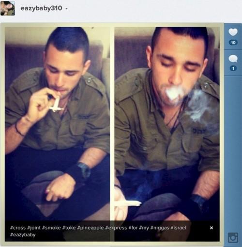 חייל מעשן ג'וינט