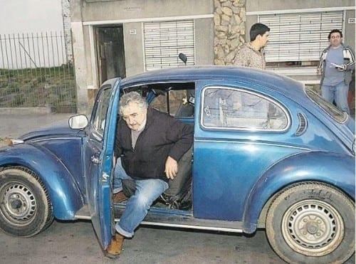 החיפושית המיתולוגית של נשיא אורוגוואי
