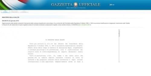 הצעת חוק קנאביס רפואי איטליה