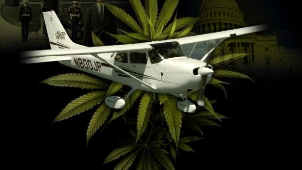 Cannabisflugzeug
