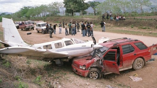 מטוס להברחת סמים