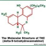 מולקולת THC
