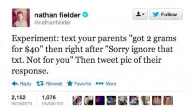 "Photo of ויראלי: SMS להורים – ""התארגנתי על שני גרם קוק ב-40$ דולר"""