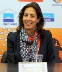 טלי קראיף, יושבת ראש מכבי אשדוד בכדורסל נשים