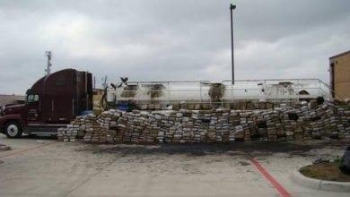 4 טון מריחואנה במשאית