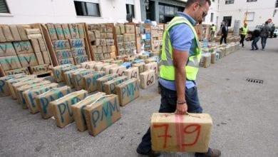 52 טון חשיש בספרד