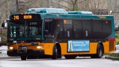 אוטובוס ציבורי בסיאטל