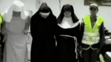 התחפשו לנזירות כדי להבריח סמים