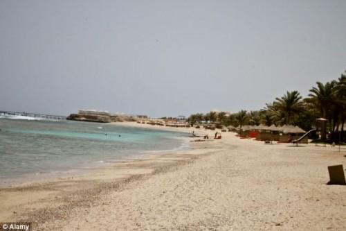 החוף בו נתפס משלוח החשיש