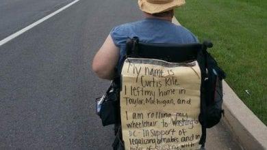 Photo of מחאת לגליזציה: על כסא גלגלים בדרך לבית הלבן
