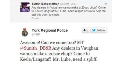 Photo of ויראלי: ביקש מריחואנה בטוויטר, קיבל תגובה מהמשטרה ופוטר מעבודתו