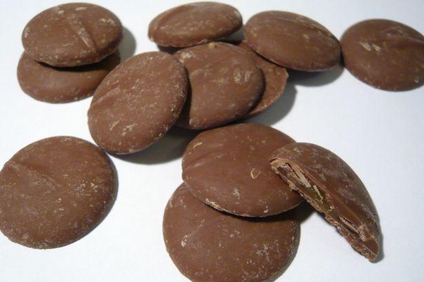 חתיכות שוקולד