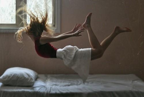 נפילה מהמיטה