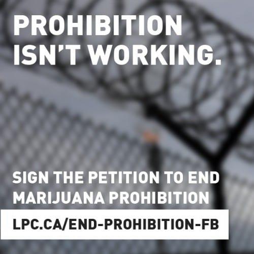 עצומה ללגליזציה של מריחואנה - המפלגה הליברלית בקנדה