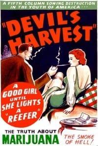 """""""ילדה טובה עד שהיא מדליקה ג'וינט"""" - פרסומת תעמולה משנות השלושים"""