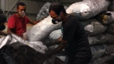 "Photo of אילת: 320 ק""ג חשיש נתפסו מוחבאים בתוך משלוח פחם"