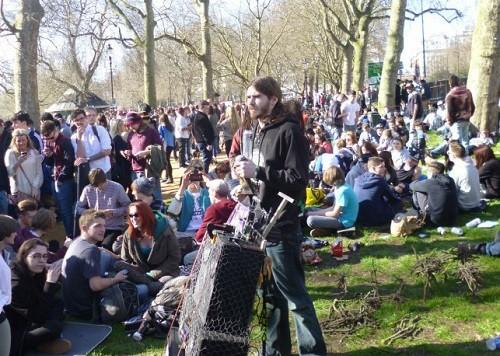אירוע 420 בהייד פארק לונדון