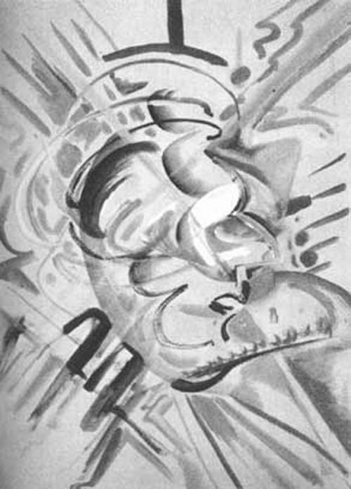 אמן מצייר תחת השפעת LSD אסיד