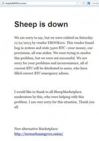 שוק הכבשים נסגר
