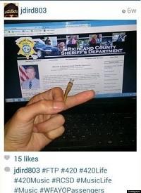 אינסטגרם,סחר,מריחואנה,תמונה,משטרה,ג'וינט
